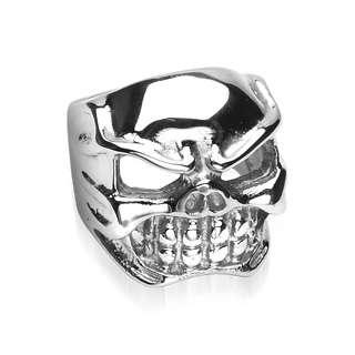 Herren Biker Ring Totenkopf Skull Gothic # TR7682