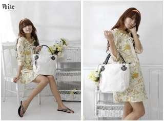 Lady Bucket Handbag Purse Bag Single Shoulder Bag Hobo Tote Bag