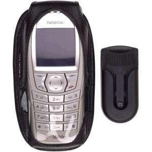 Nokia 6600 Premium Leather Case with belt swivel clip