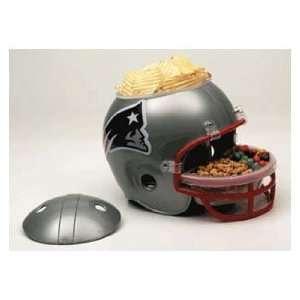 NFL New England Patriots Snack Bowl Helmet Sports