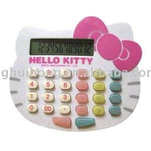 Hello Kitty Calculator White