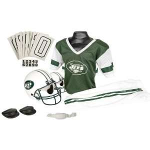 New York Jets NFL Football Deluxe Uniform Set Size Small