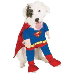 Dog Fancy Dress Costume Superman Deluxe   Size XL Toys