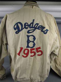 Vintage 55 Brooklyn Dodgers World Series Champs Jacket