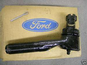 NOS FORD TRUCK 1971 1972 F100 F250 2WD RH TIE ROD END