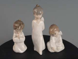 Lladro #1604 Miniangelitos Mini Angels Ornament Figurines