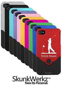 Laser Engraved iPhone 4 4S Case/Cover   GOLF GOLFER GOLFING