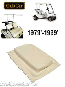 Club Car DS Golf Cart 1979 1999 Buff SEAT BOTTOM COVER