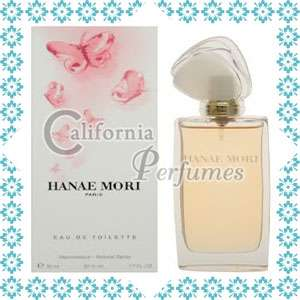 PINK BUTTERFLY by Hanae Mori 3.4 oz EDT Perfume Tester
