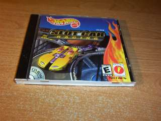 HOT WHEELS SLOT CAR RACING RACE PC CD ROM GAME 074299272431