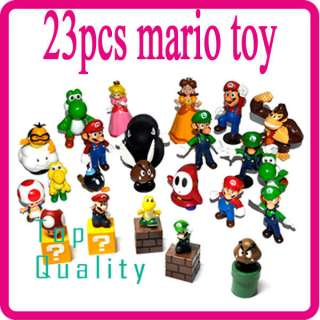 New Lot 23 Super Mario Bros Standing Figure SM3