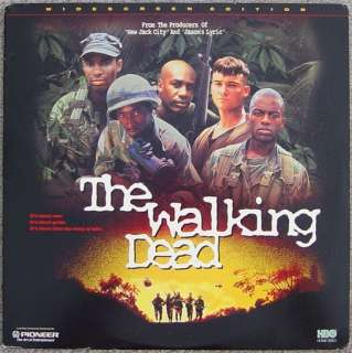 The WALKING DEAD Vietnam War Black Soldiers Laserdisc