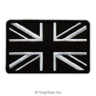 GREAT BRITAIN FLAG UNION JACK SUBDUED COLOR BIKER PATCH