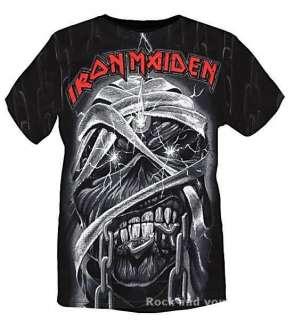Iron Maiden Eddie Mummy Allover metal rock T Shirt L XL 2XL 3XL NWT