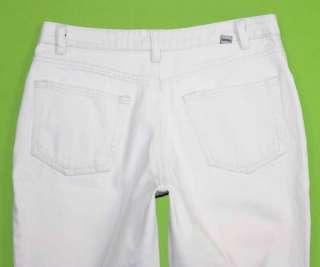 Route 66 sz 7 / 8 Capri Womens White Jeans Denim Pants FN1