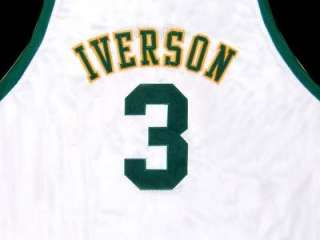 ALLEN IVERSON BETHEL HIGH SCHOOL WHITE JERSEY NEW ANY SIZE KCN