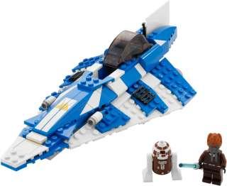 Lego Star Wars Plo Koons Jedi Starfighter ship R7 D4 droid minifig Kit