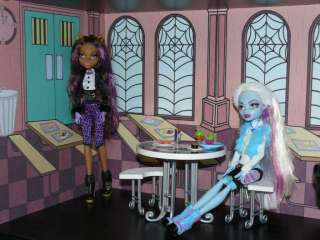 Monster High School Doll House Bookcase Kit   Creepateria Mad Science