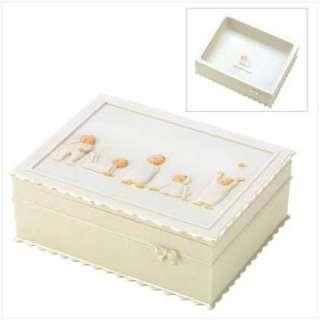 SENTIMENTAL BABY TREASURE BOX Newborn Infant Gift NEW