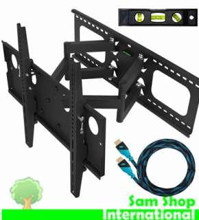 Mounts APDAM2B Plasma LCD Flat Screen TV Full Motion Dual Arm Wall
