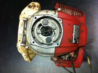 HONDA GX31 ENGINE FG100 TILLER HARMONY ROTOTILLER RUNS
