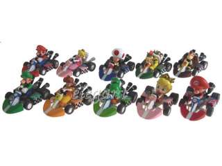 Nintendo Super Mario Kart 2 Luigi Yoshi 10 Figur Satz