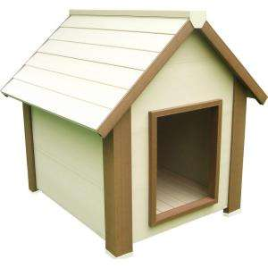 Canine Cottage Insulated Dog House, Medium ECOH501M at The Home Depot