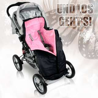 Fleece Kinderwagen Winterfußsack Baby Babyfußsack Schlafsack