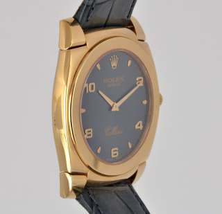Rolex Cellini 18k Solid Rose Gold Box Papers A 5330 Pink Mens