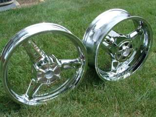 Yamaha Roadstar Warrior Chrome Rim Package Road Star
