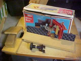 Craftsman Miter Box model #881.3632 + Box