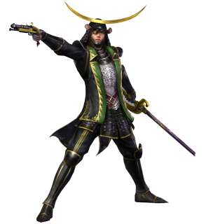 Cool samurai warriors 3 SW3 date masamune Cosplay Costume Halloween