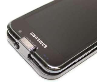 Samsung Galaxy S Plus I9001 Leder Tasche Weiß Etui Case Schutz Hülle
