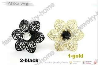 Fashion Gold Beautiful Flower Ring