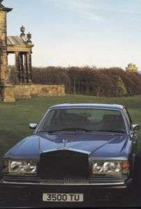 1981 1982 Rolls Royce silver Spirit Sales Brochure Book