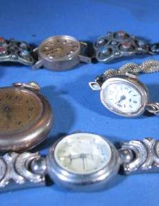 Hamilton Waltham Ladies Quartz & Jeweled Watch Lot G