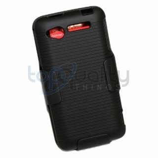 Shellster Belt Clip Holster+Hard Shell Cover Protector Case HTC Merge