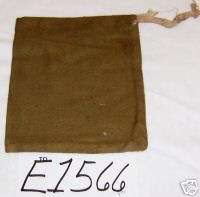 Cotton Canvas Gun Cleaning Kit Bag E1566