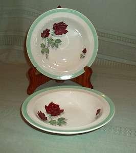 Barker Bros Ltd Royal Tudor Ware Red Rose Fruit Bowls 2