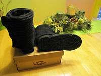 Women UGG boots size 7  Classic Cardy Black