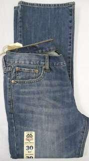 Lucky Brand Vintage Straight Jeans Men Sz 30 Short Medium 617089721797