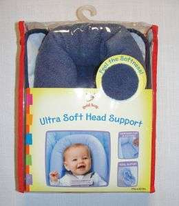 GOLD BUG ULTRA SOFT HEAD SUPPORT, Navy Blue, NEW