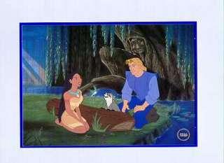 Disney Pocahontas Special Lithograph Rare