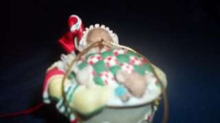 Tea Cup Ornament San Francisco Music Box Co Mouses Holiday Gift Free