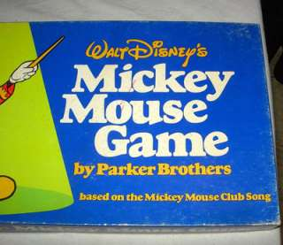 1976 WALT DISNEYS MICKEY MOUSE GAME BY PARKER BROS.