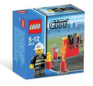 This is a NEW LEGO CITY FIRE FIREMAN 5613 BRAND NEW IN BOX MINT. Very
