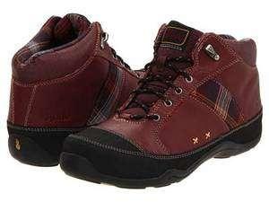 Ahnu Camino Tawny Port Red Burgundy Womens Casual Dress Boots