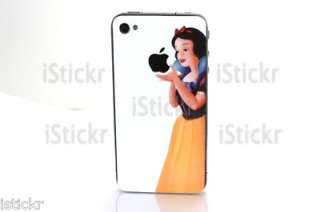 Snow White iPhone 4 Decal Sticker Skin