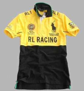 star New Mens 100% Cotton RACING TEAM 2163 Brazil shirt 3 size