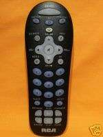 RCA RCR311B UNIVERSAL TV/DVD/VCRV REMOTE CONTROL